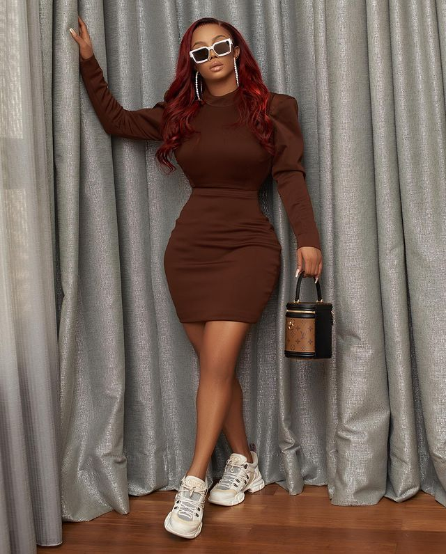 Toke Makinwa Is The Definition Of A Stylish IT Girl