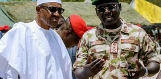 Buhari and Buratai