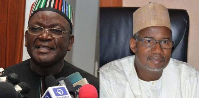 Bala Mohammed and Samuel Ortom