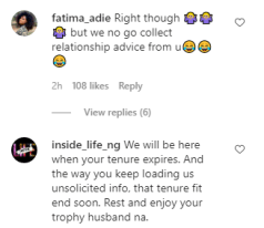 Reactions to Rosy Meurer relationship tip KOKO TV Nigeria 2