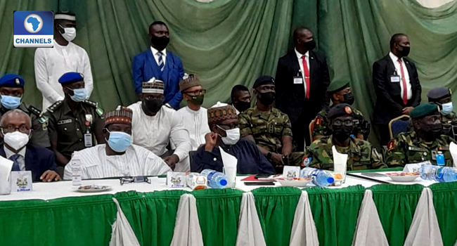 Insecurity: FG Delegates, Service Chiefs Meet Northern Governors
