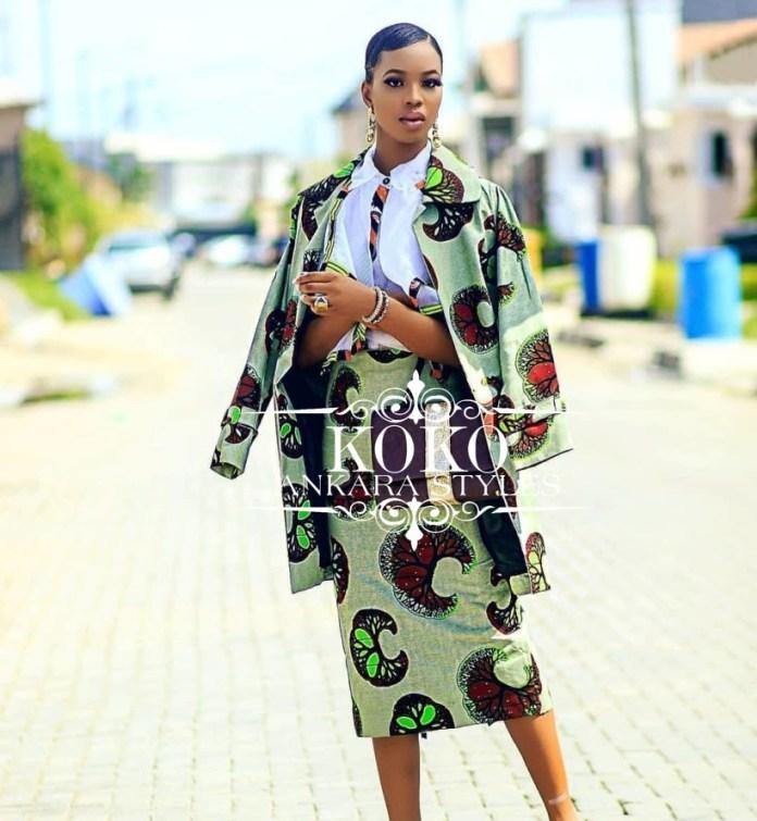 Workwear Ankara Styles