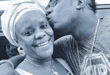 Duncan Mighty and mother