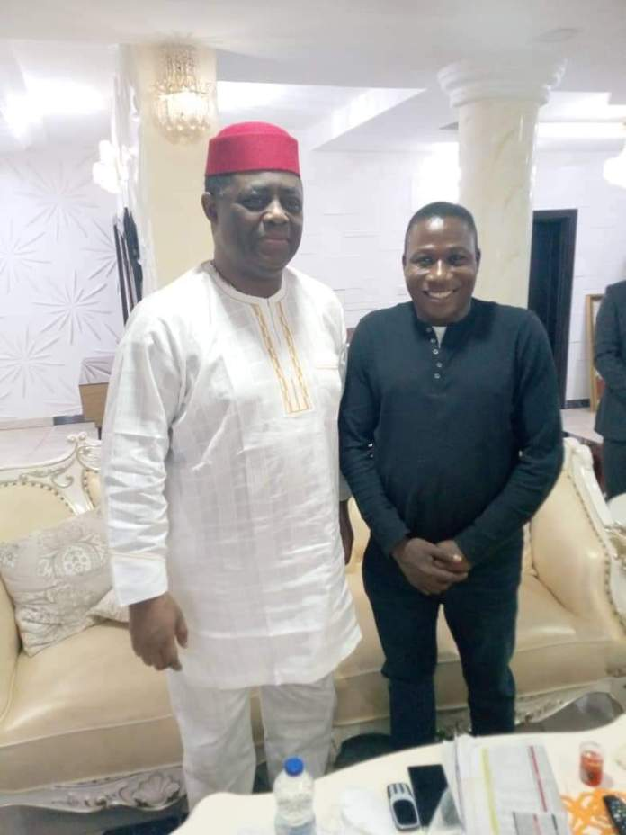 Femi Fani-Kayode with Sunday Igboho