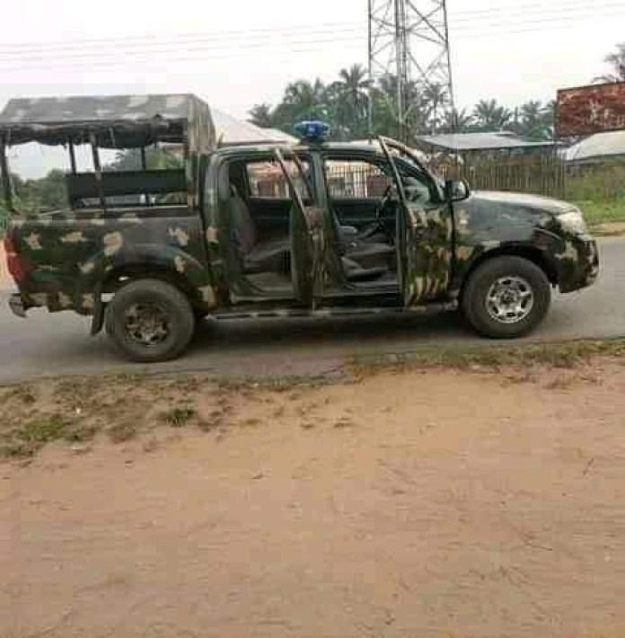 Gunmen Kill Soldiers, Policemen, Burn Operational Vehicles In Akwa Ibom