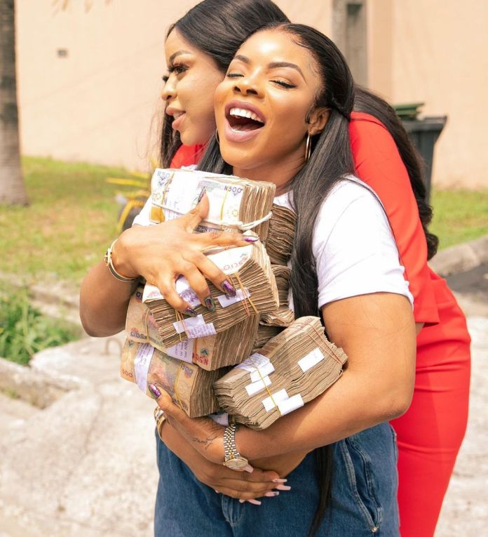 Laura Ikeji Gets 3m Cash Gift, New Car For Birthday