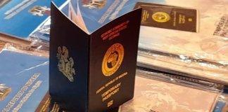 Nigerian Temporary Passport