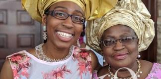 Ngozi Okonjo-Iweala and daughter, Onyi