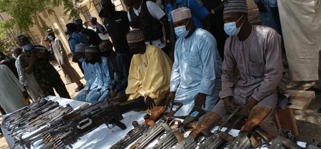 Bandits surrender in Katsina