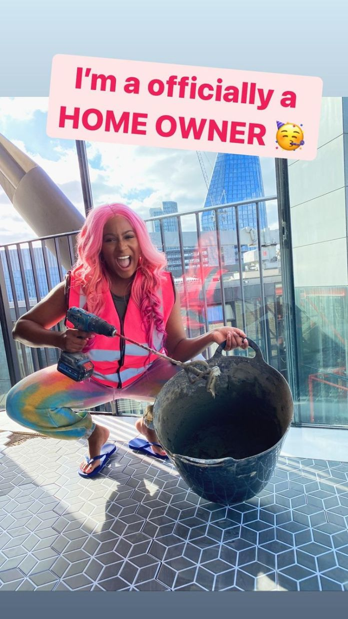 DJ Cuppy buys penthouse in UK