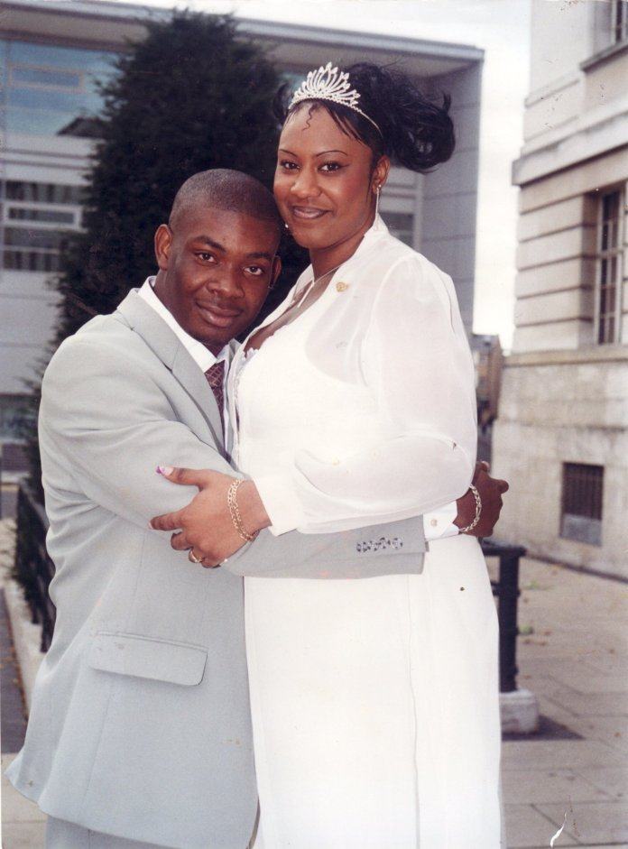 Don Jazzy and ex-wife Michelle Jackson