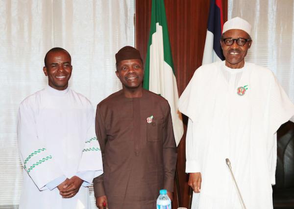 Mbaka, Osinbajo and Buhari