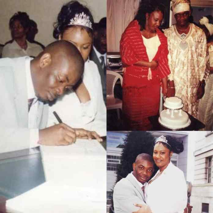 Michelle Jackson and Don Jazzy