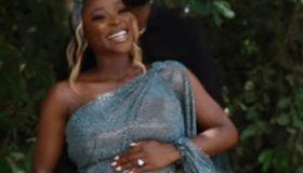 A Bun In The Oven! Tomike Adeoye And Hubby Expecting Their 1st Child