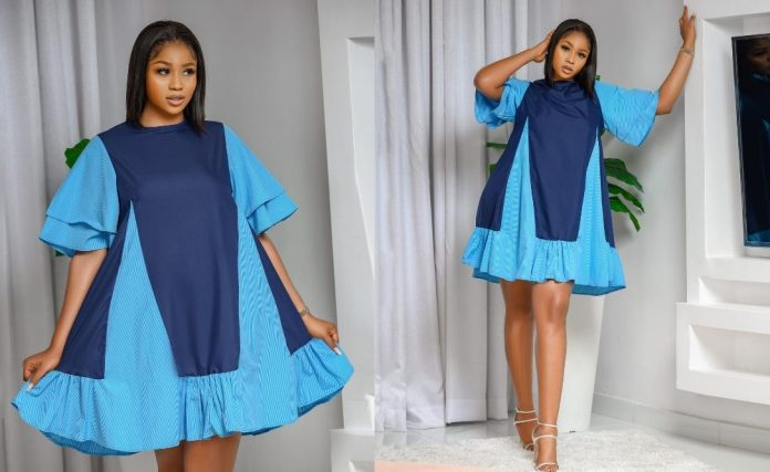 lilian afegbai in blue KOKO TV NG e1617972121841 Acting Shouldn't Be Your Main Hustle If You Are Upcoming In Nollywood – Actress Lilian Afegbai