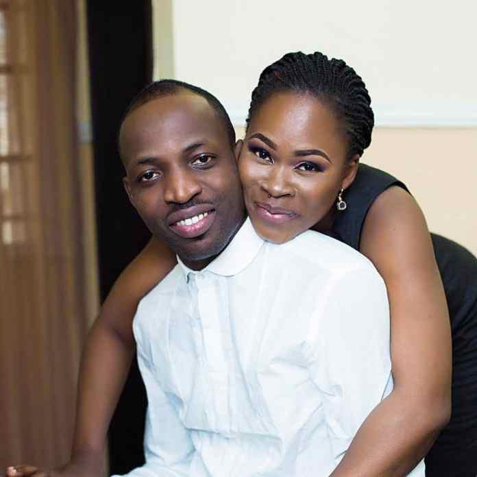 Dunsin Oyekan and wife Adedoyin