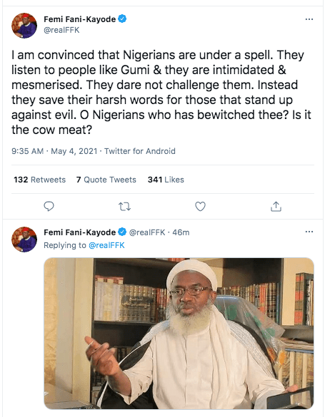 I Am Convinced That Nigerians Are Under A Spell - FFK