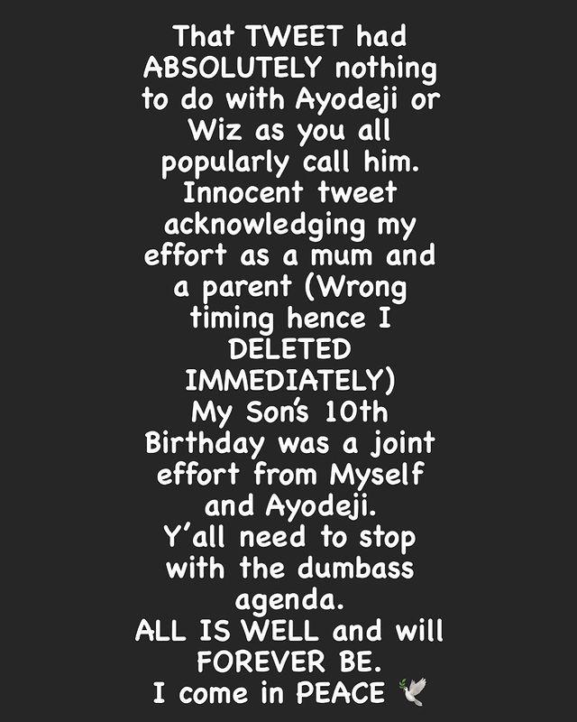 My Tweet Had Absolutely Nothing To Do With Wizkid - Shola Ogudu Addresses Viral Tweet