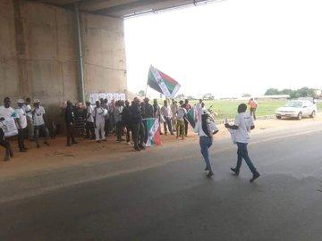 Sunday Igboho Storms Yoruba Nation Rally In Osogbo