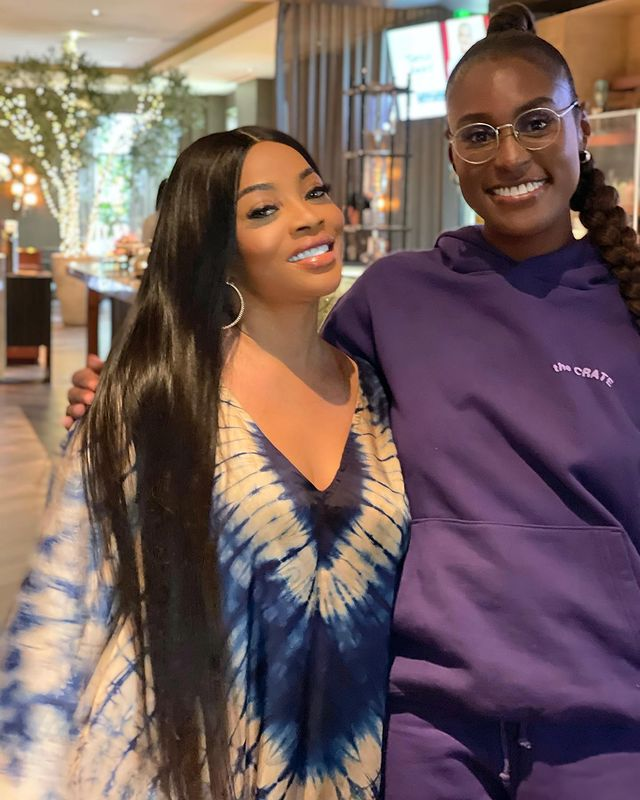 Toke Makinwa Reveals She Had An Epiphany As She Meets Isa Rae