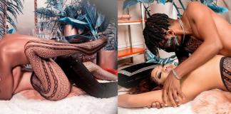 Toyin-Lawani-And-Her-Fiance-Segun-Adebayo-Are-Risque-In-New-Racy-Snaps-5-KOKO-TV-NG