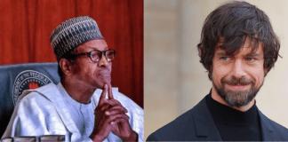 Buhari and Jack Dorsey