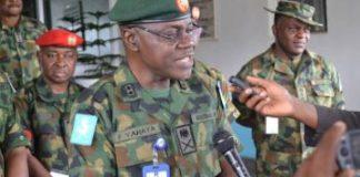Maj.Gen Faruk Yahaya