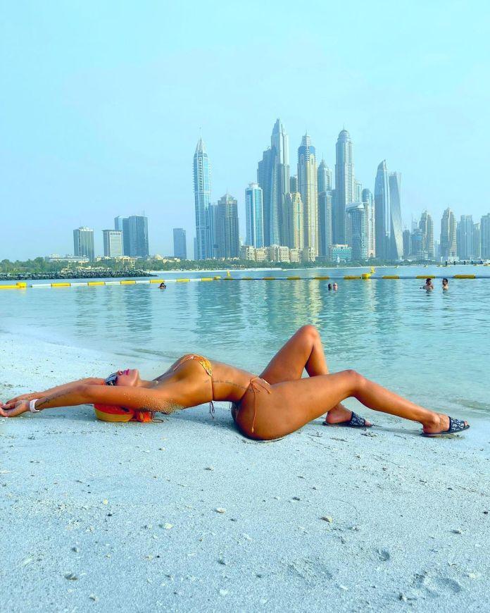 Huddah Monroe Sets Social Media Ablaze With Bikini Snaps
