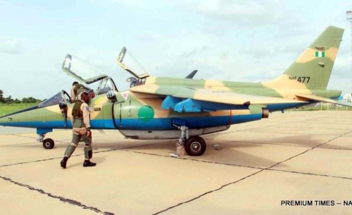 Nigerian Military Aircraft