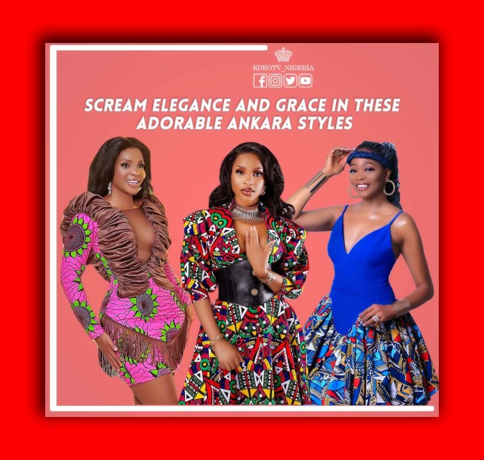 Scream Elegance And Grace In These Adorable Ankara Styles
