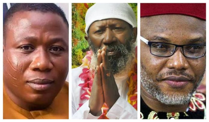Sunday Igboho, Sat Guru Maharaj Ji and Nnamdi Kanu