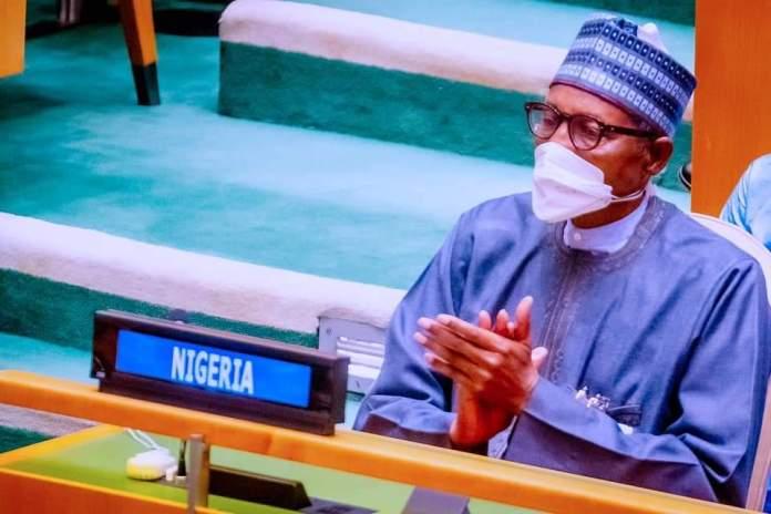 Buhari at 76th UNGA