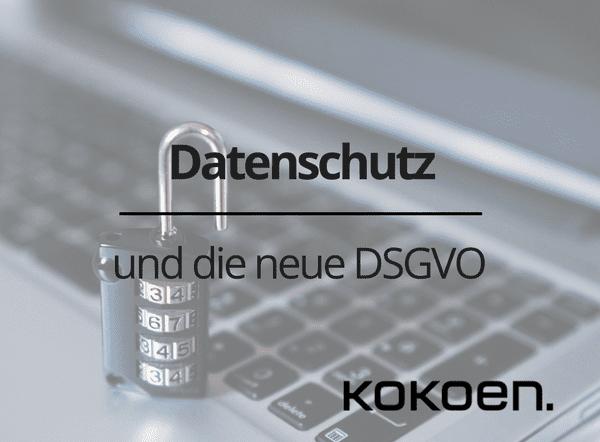 Datenschutz, DSGVO