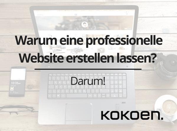 Professionelle Website erstellen lassen