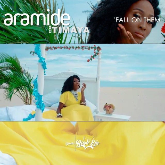 "Image result for New Video : Aramide features Timaya on "" fall on them"""