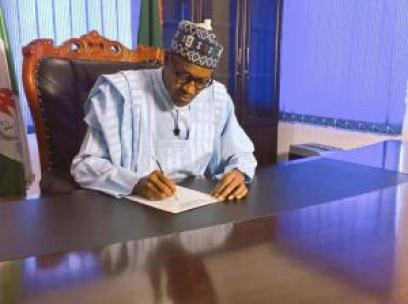 Buhari-Writing