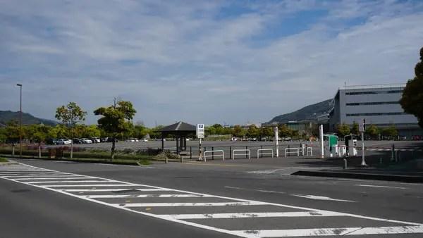 県営常盤駐車場 南側