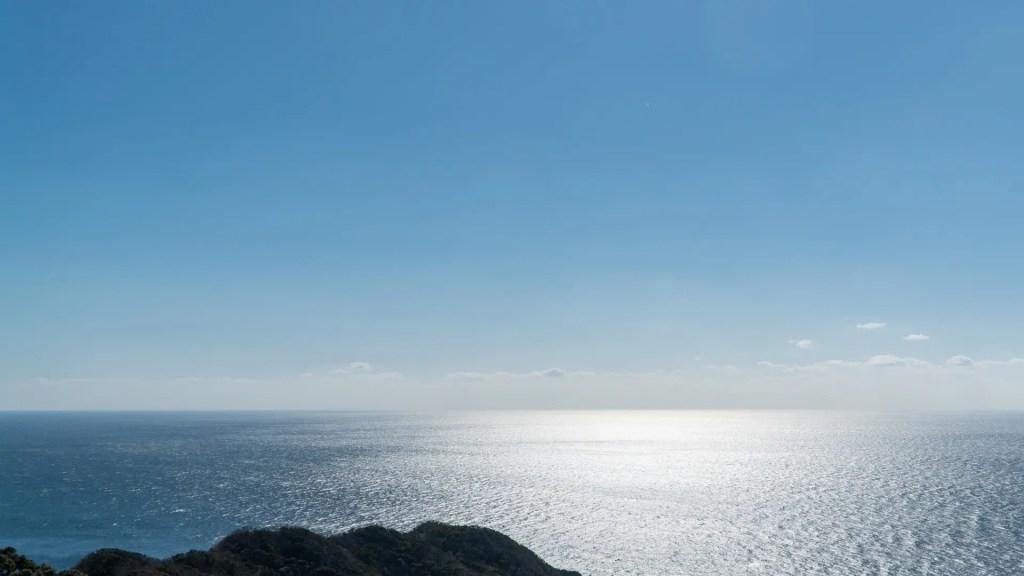 権現山からの海