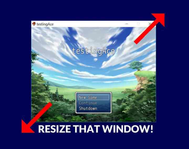how to make rpg maker games full screen | gamexcontrol co