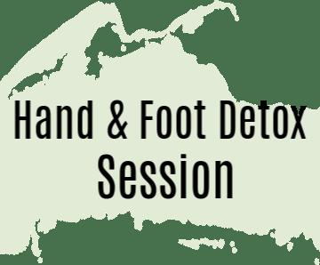 Hand & Foot Detox Button