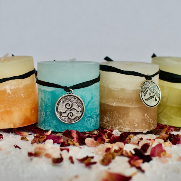 Mini Pillar Candle Set