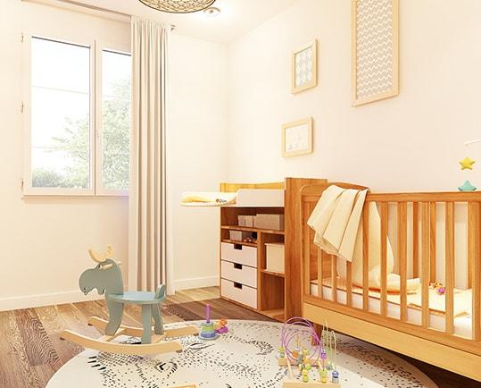 Travaux de rénovation de chambre d'enfant