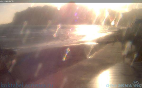 Фото с веб-камеры в Коктебеле, 3 / Декабрь / 2012