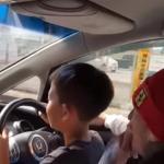 【古河市】子供に車運転させるインスタ動画が炎上 投稿者の父親はラッパーだったwwww