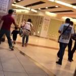 京都駅で嫁にDVする旦那の動画がやばすぎる