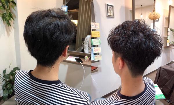 クセ毛を生かして動きのあるメンズスタイル