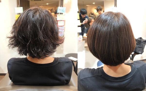 オーナーにもヤバヤバ髪質改善トリートメントでツルツルサラサラに【箕面大阪】