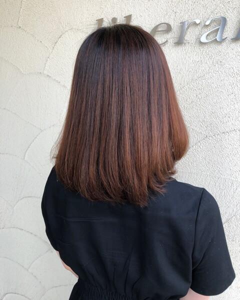 引っ越し前に最後の髪質改善縮毛矯正でさらさらに【箕面大阪】