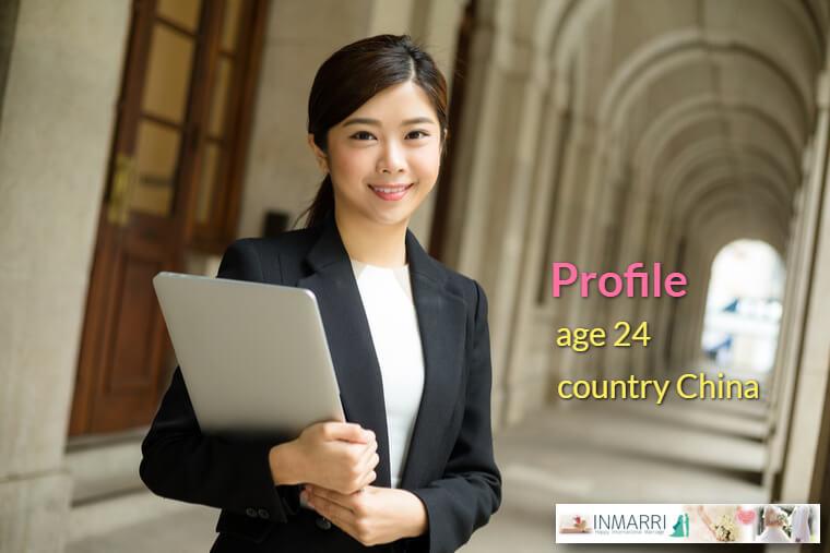 アジア人女性のプロフィール画像イメージ