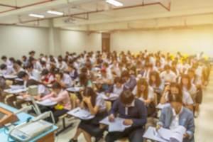 中国統一試験の様子